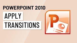 PowerPoint 2010: Application De Transitions