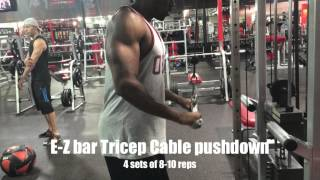 Simple Chest,tricep, And Front/lateral Shoulder Workout For Building Muscle