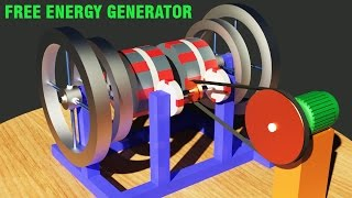 Repeat youtube video Free Energy Generator 2017, Victor Diduck Magnetic Motor