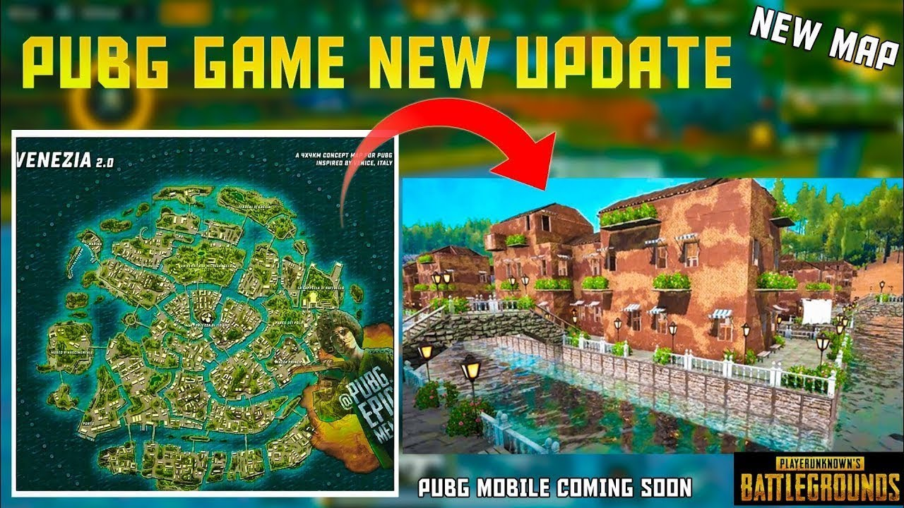 Pubg Mobile New Venezia Map Update  Officially Confirm