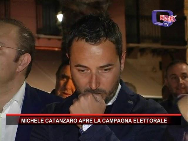 MICHELE CATANZARO APRE LA CAMPAGNA ELETTORALE