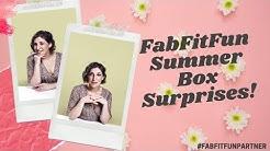 FabFitFun Summer Unboxing Surprises! || Mayim Bialik