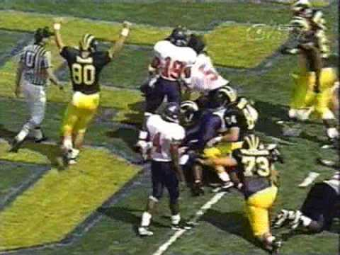 1995: Michigan 18 Virginia 17