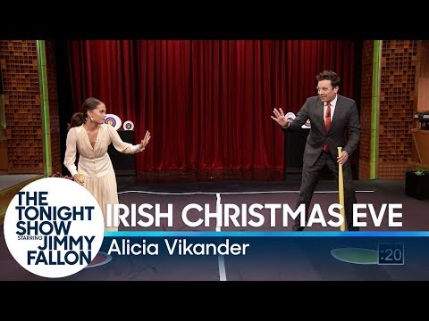 Download Youtube: Alicia Vikander Teaches Jimmy a New Swedish Game