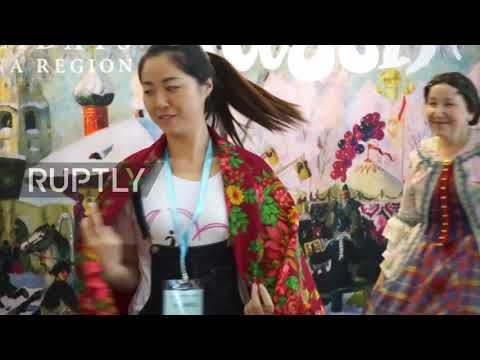 China: 'Get a taste of Russian culture' - intl. fair celebrates hundreds of Russian wares