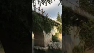 Грузия Мухури прижок с моста
