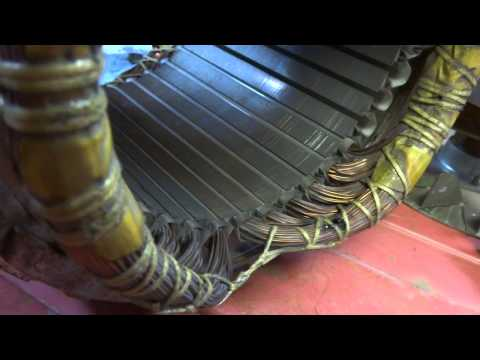 Generator Stator and Rotor Removal