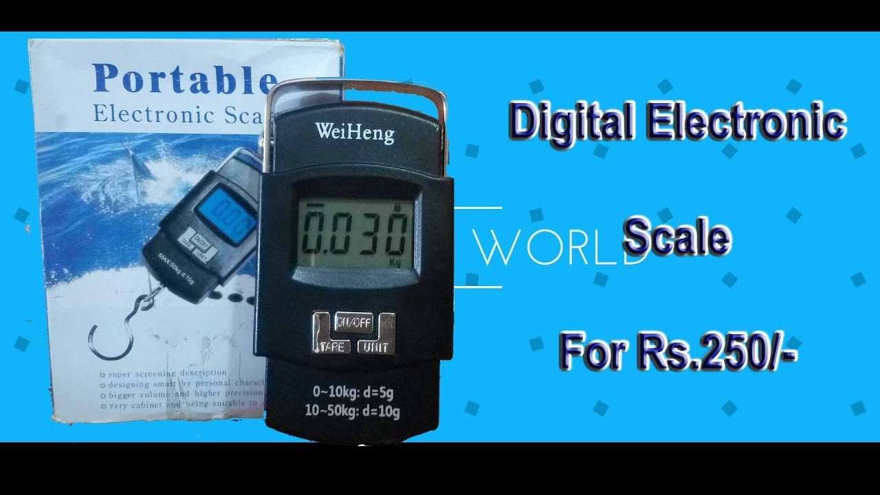 aed3fe18249e Digital Portable electronic Scale Weiheng