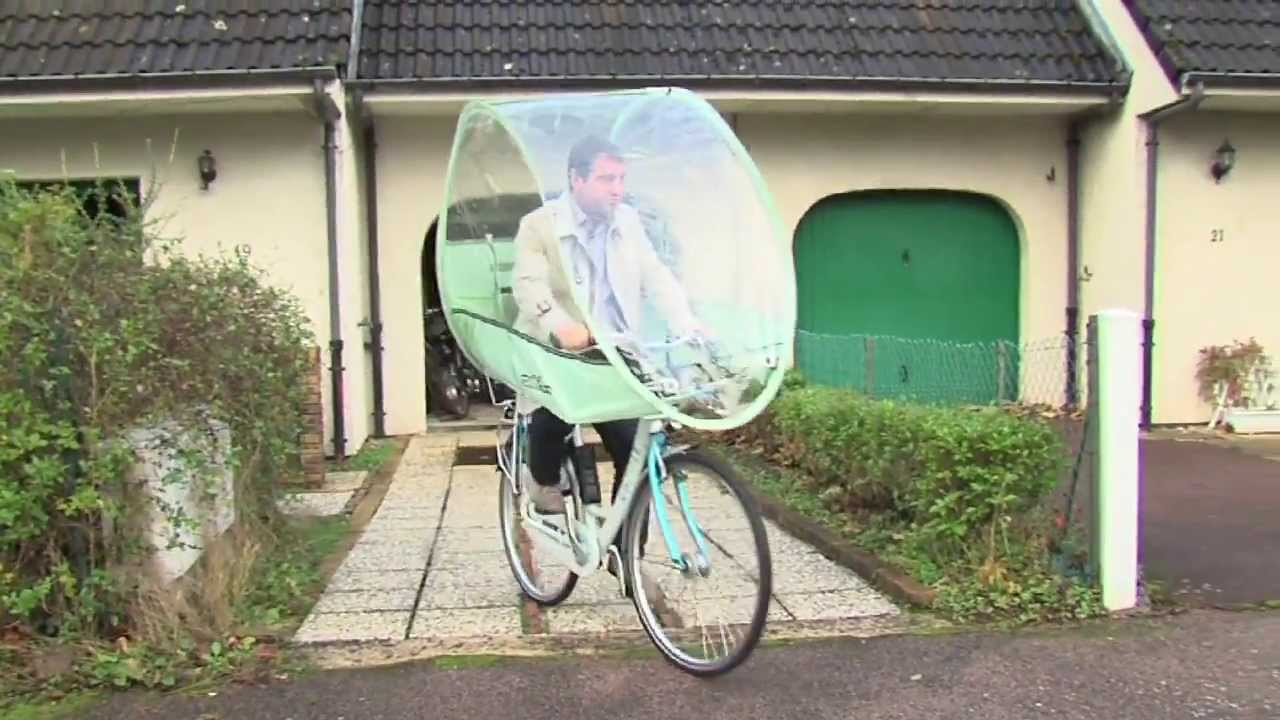un dispostif anti pluie pour les cyclistes youtube. Black Bedroom Furniture Sets. Home Design Ideas
