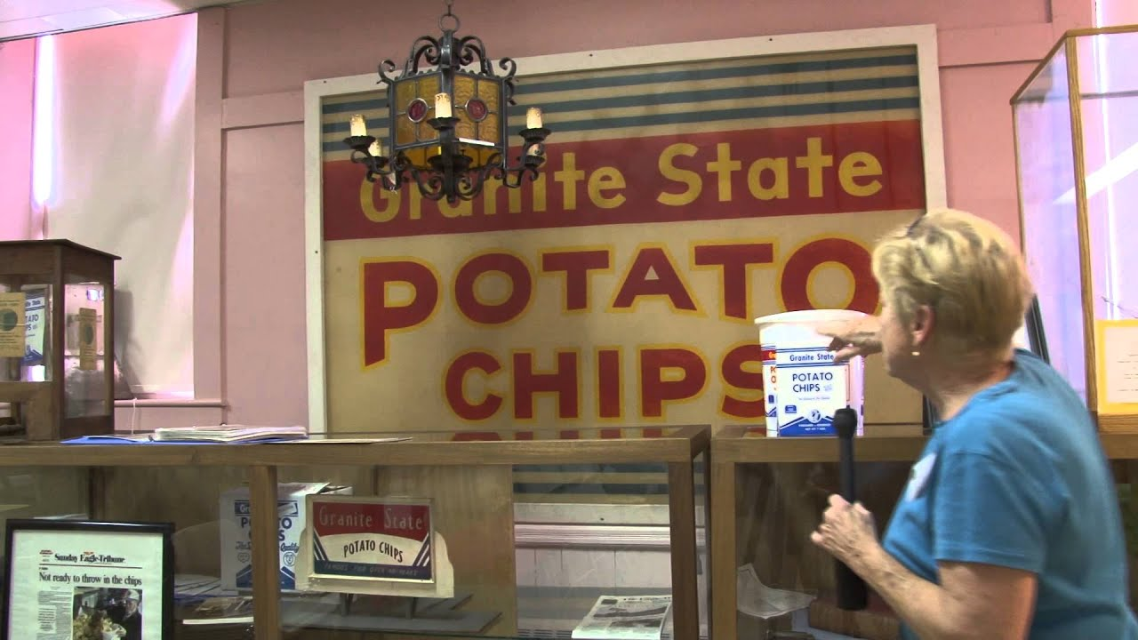 Local History Granite State Potato Chip Factory of Salem