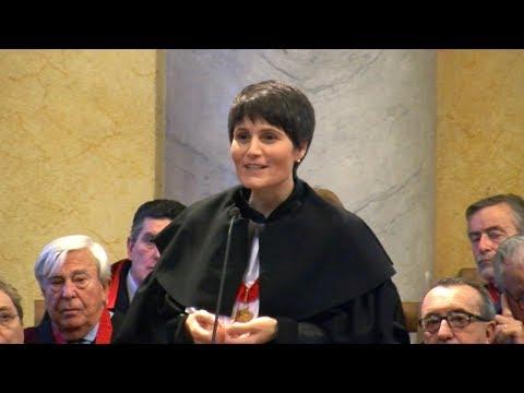 La lectio di Samantha Cristoforetti all'Università di Pavia
