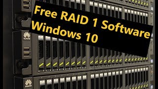 Free RAID 1 Software in Windows 10 [Disk Mirroring]
