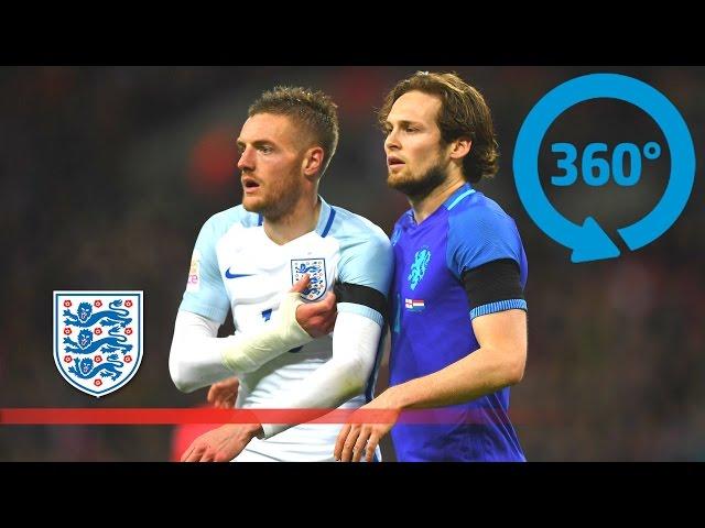 360° View – England 1-2 Netherlands at Wembley Stadium