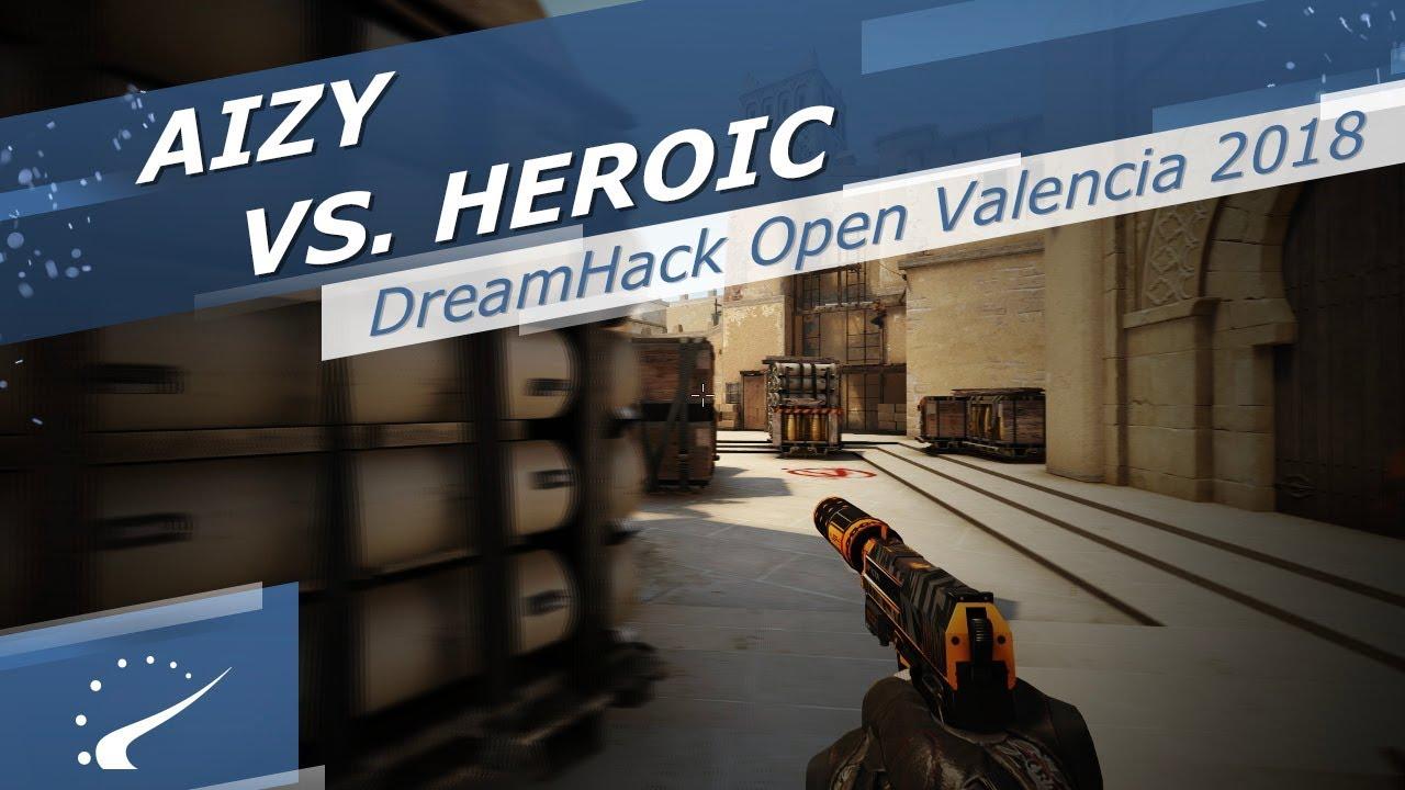 aizy vs. Heroic - DreamHack Open Valencia 2018 Videosu