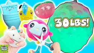 Squishy Cutting Bingo! MASSIVE 30LB Squishy! Doctor Squish thumbnail