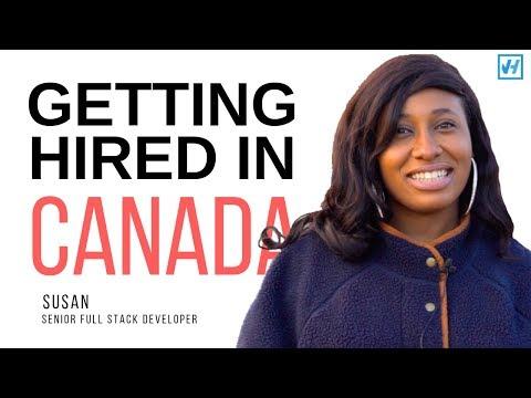 How Susan Got Hired In Canada As A Fullstack Developer