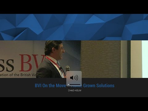 BVI On the Move – Home Grown Solutions:  The Banking Challenge in Asia