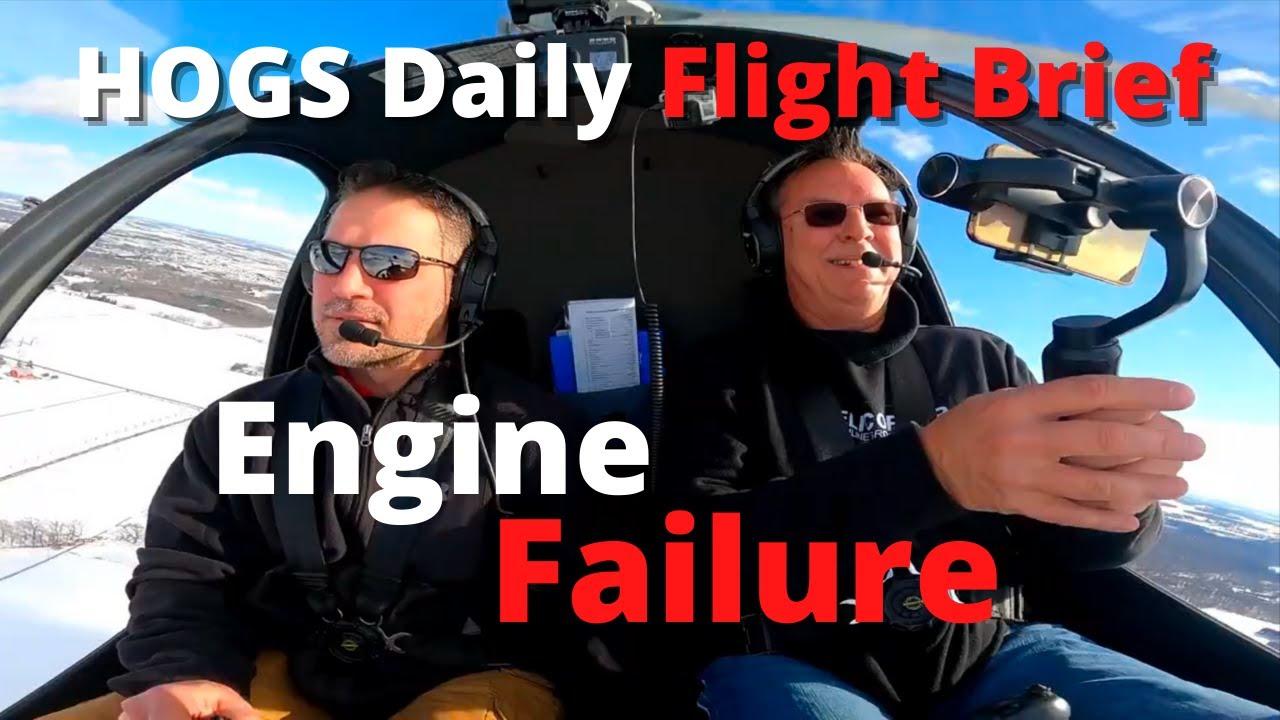 EP 31 Helicopter Engine Failure Autorotation Practice