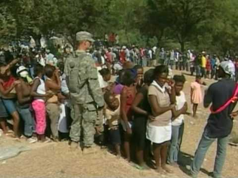 US Military To Leave After Humanitarian Mission In Haiti