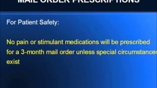 Mail Order Prescriptions