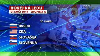 Slovenian Hockey Team Go To Olympic Games 2014