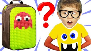 Yura want to the beach | Pretend Play with Super Backpack
