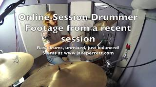 Another rock session from my home studio