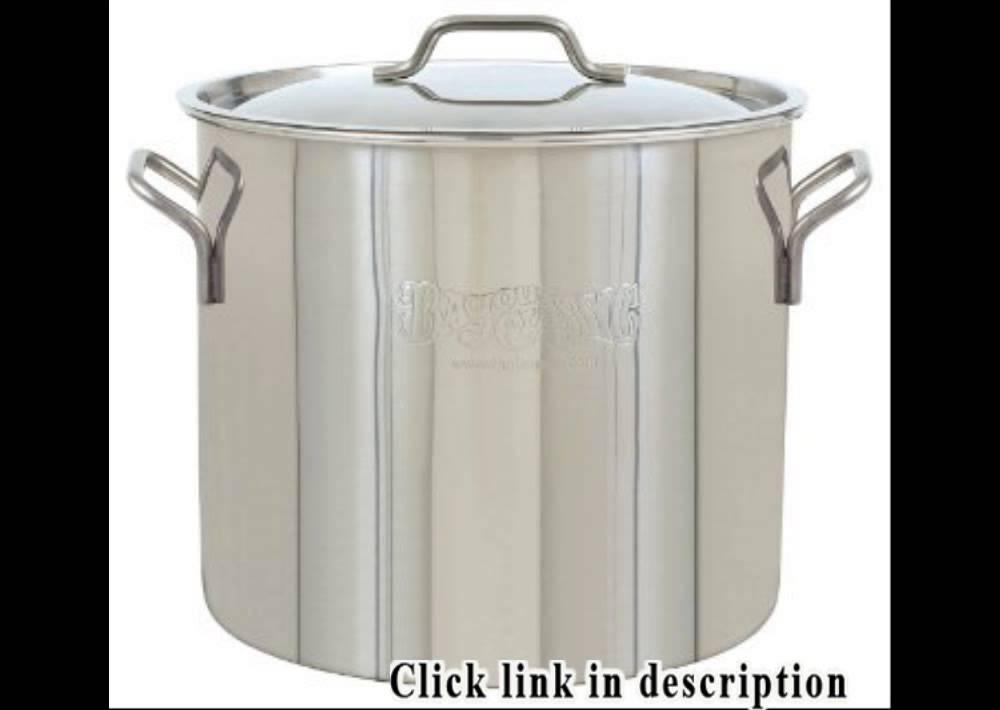 20 Gallon Stainless Steel Pot