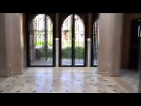 Real Estate Immobilier Villa Marrakech Sur Golf 2 800 000 MAD