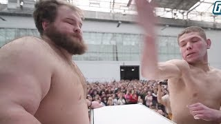 INSANE 'Slapping Championships' In Russia Is The CRAZIEST Thing You'll Ever See! Winner Gets $465!