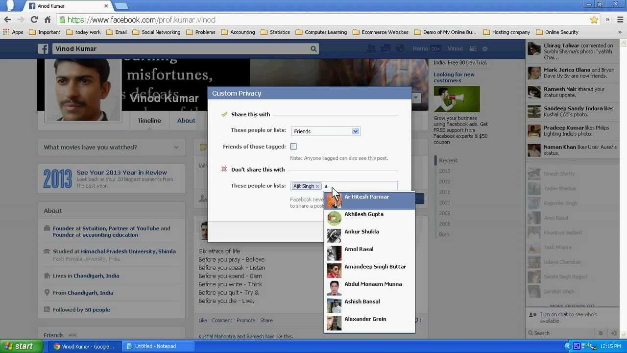 Manage Live chat