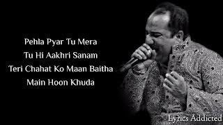 Lag Ja Gale (Bhoomi) Full Song With Lyrics| Rahat Fateh Ali Khan
