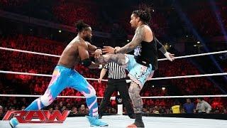 Neville & The Usos vs. The New Day: Raw, November 9, 2015