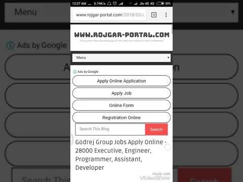 Godrej Group Jobs Apply Online - 28000 Posts | 10th,12th Pass