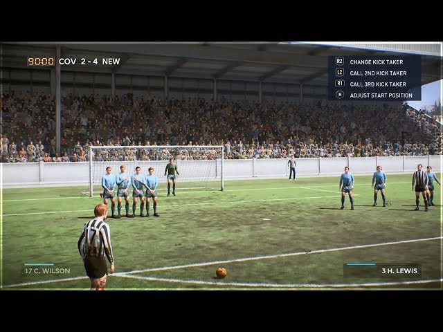 HOW TO PLAY 1960's FOOTBALL MATCH IN FIFA 19