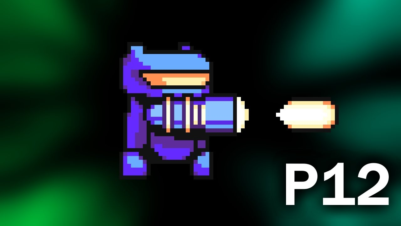 GameMaker Studio 2 - Platform Shooter - P12 - Health Bars and New Bullets
