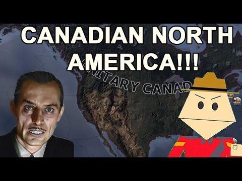 Unitary Canada CONTROLS North America Eh!?!  (HOI4 CANADA SPEEDRUN)