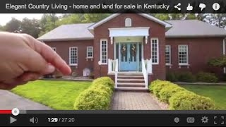 Elegant Country Living - home and land for sale in Kentucky near Paintsville Lake