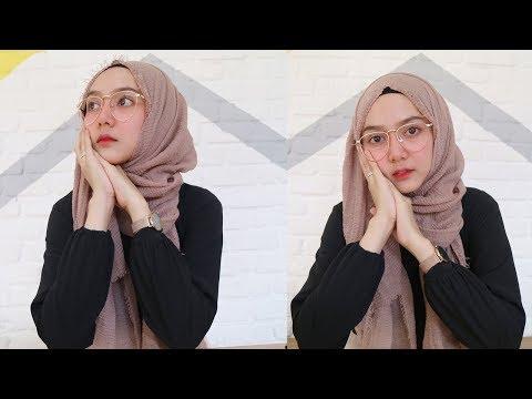 Cara Pakai Hijab Pashmina Wajah Bulat