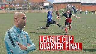 WE TRAINED W/ PEP GUARDIOLA AT MAN CITY | Brotherhood's Sunday League Football | Kitchener FC