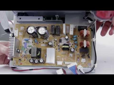 DLP TV Repair - No Picture, No Power - Replacing Power Supply in Mitsubishi, Samsung, & Toshiba