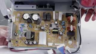 DLP TV Repair - No Picture, No Power - Replacing Power Supply in Mitsubishi, Samsung, & Toshiba