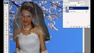 Сохраняем прозрачность фаты в Photoshop CS4