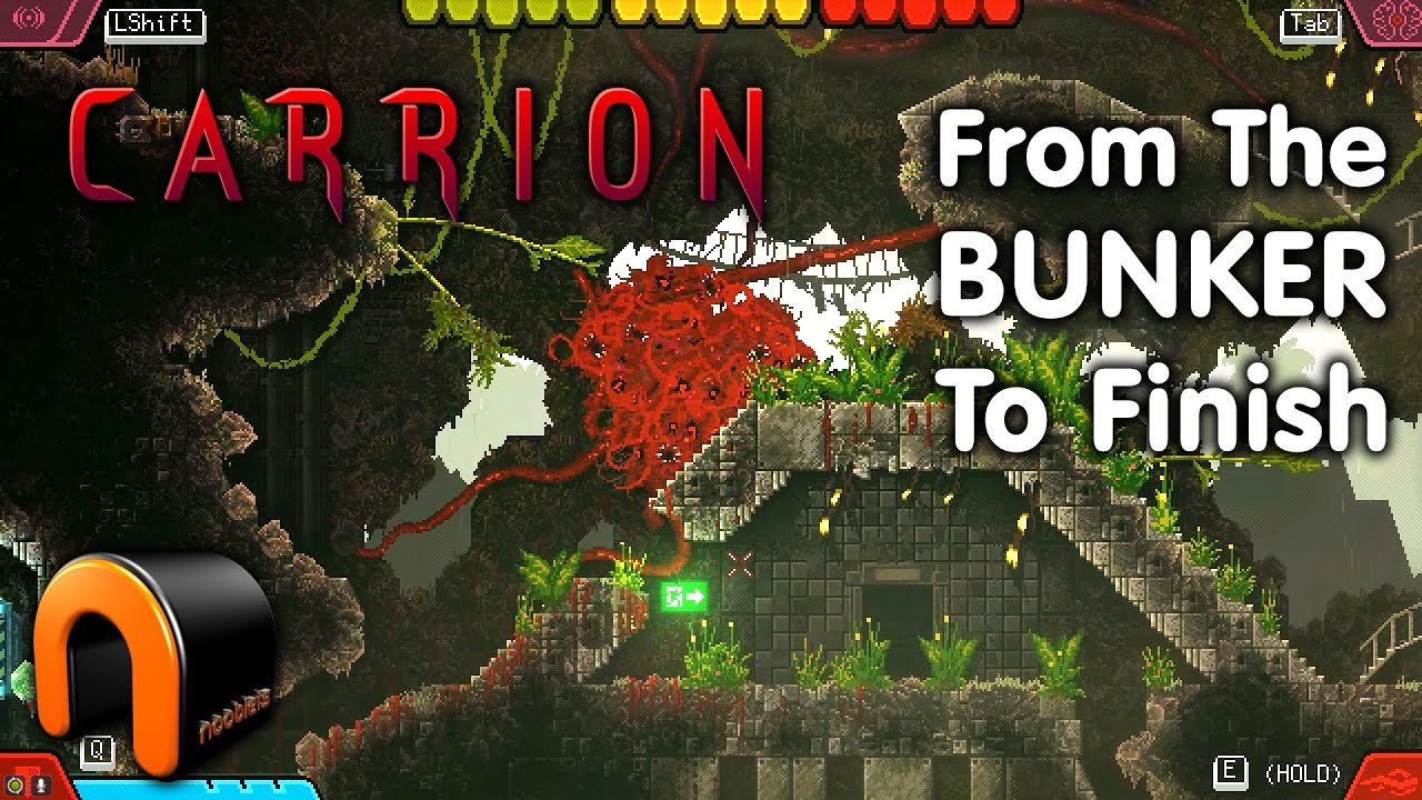 Carrion Where From The Bunker Quick Walkthrough Carriongame