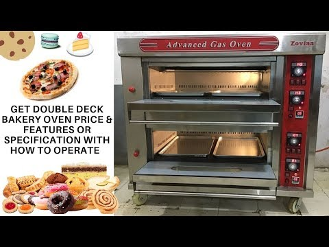 Bakery Oven Price In Delhi | India & Get Gas Double Deck Bakery Oven Price & Information .