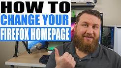 How to Change Firefox Homepage
