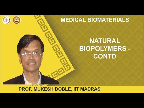 Natural biopolymers - Contd