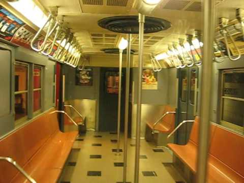 Car Show Nyc >> Inside Of An R30 Subway Car - YouTube