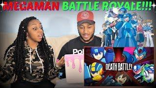 """Death Battle """"Mega Man Battle Royale DEATH BATTLE!"""" REACTION!!!"""