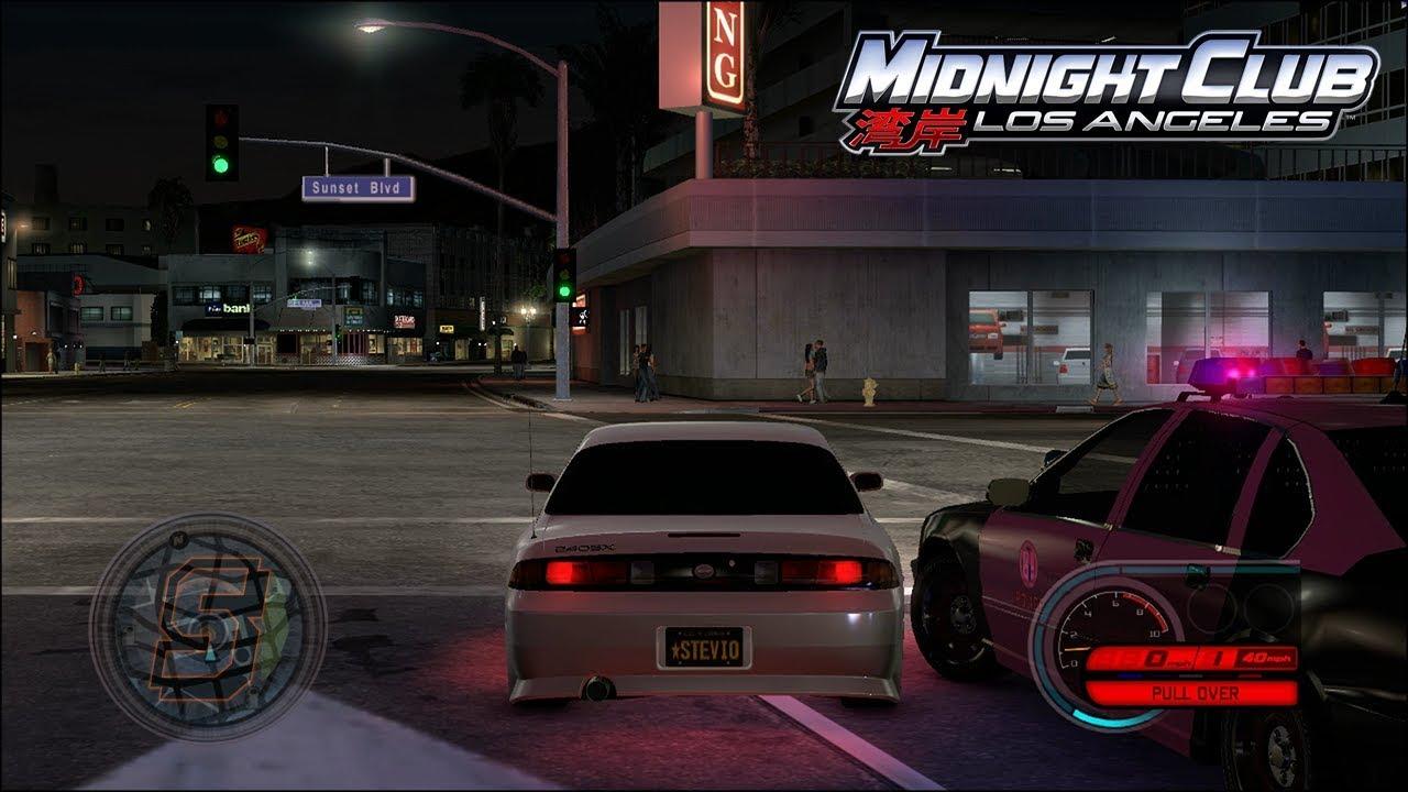 THIS COP IS CRAZY! Midnight Club Los